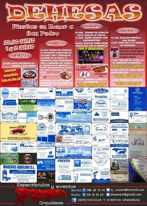 Grandes fiestas 2017 en Dehesas en honor a San Pedro 2
