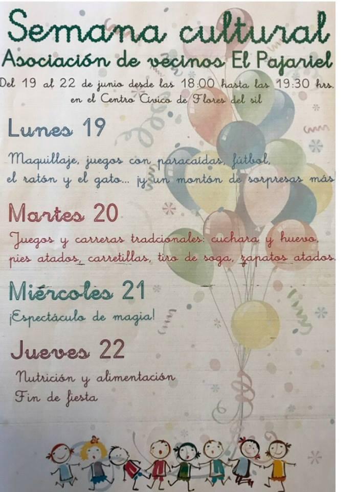 Semana Cultural de la Asociación de vecinos El Pajariel 2