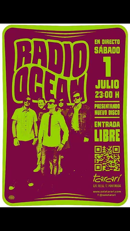 Los bembibrenses Radio Ocean presentan su disco en la Sala Tararí el sábado 2