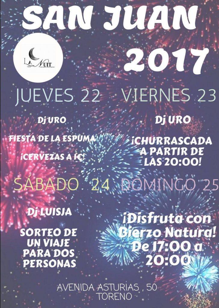 El Bierzo se llena de hogueras para celebrar San Juan 2017 9