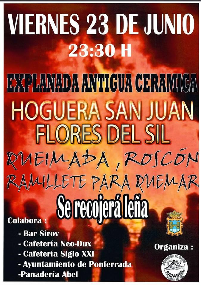 El Bierzo se llena de hogueras para celebrar San Juan 2017 3