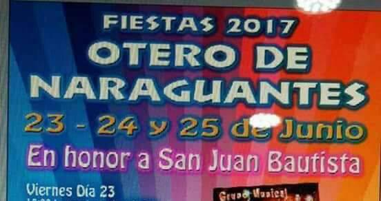 Fiestas en Otero de naraguantes 2017 1