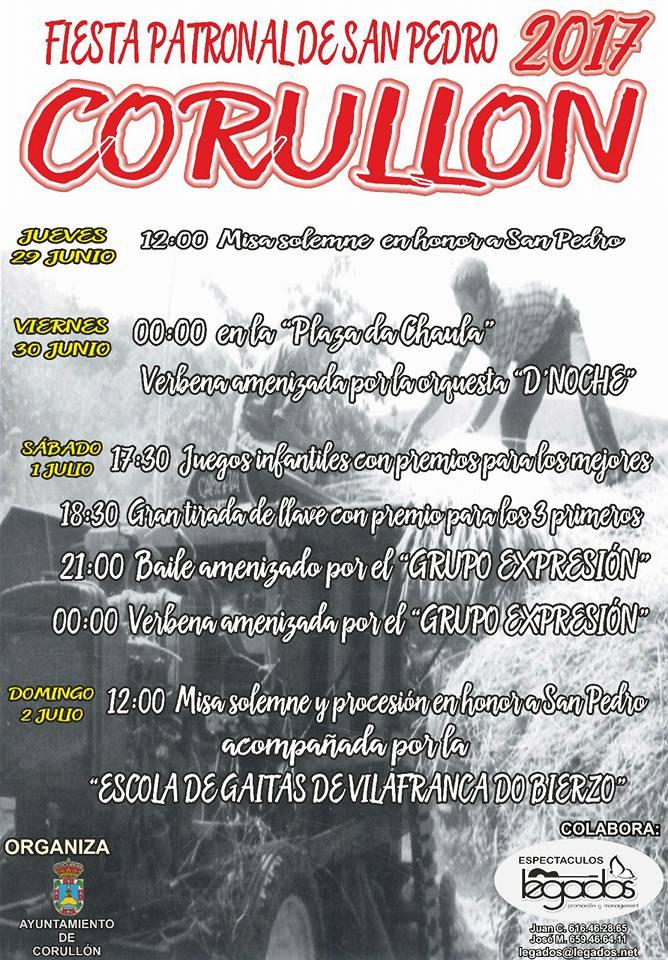 Corullón celebra San pedro 2017 2