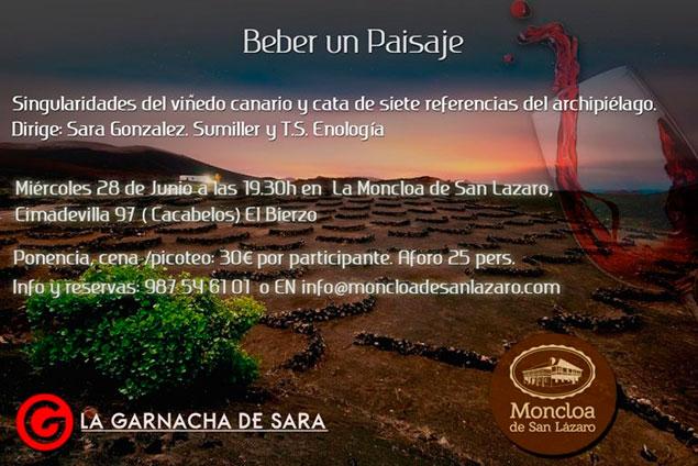 'Beber un paisaje' el sabor de los vinos canarios en La Moncloa de Cacabelos 2