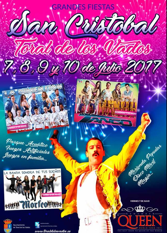 San Cristobal 2017 en Toral de los Vados 2