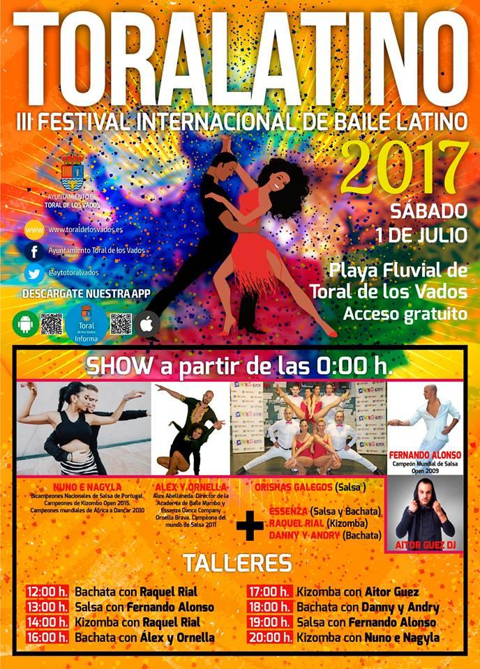 Toralatino 2017, III Festival internacional de Baile Latino 2