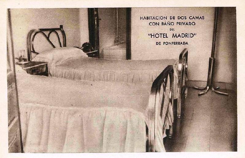 El Hotel Madrid de Ponferrada cierra sus puertas tras 75 años de historia 2