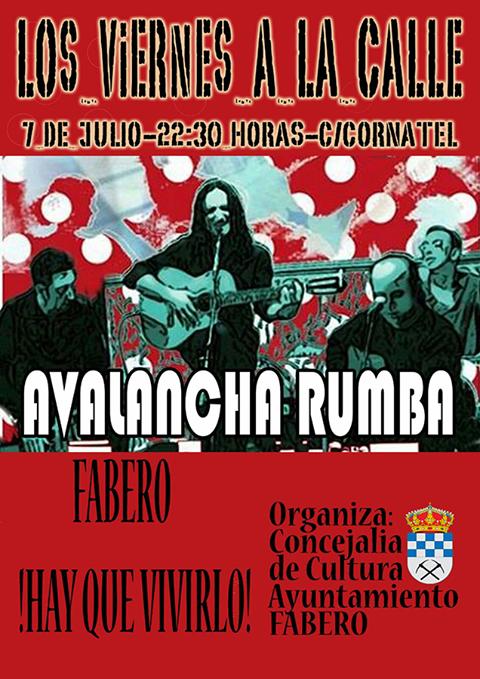 Fabero organiza un concierto de 'Avalancha Rumba' para la noche del viernes 2