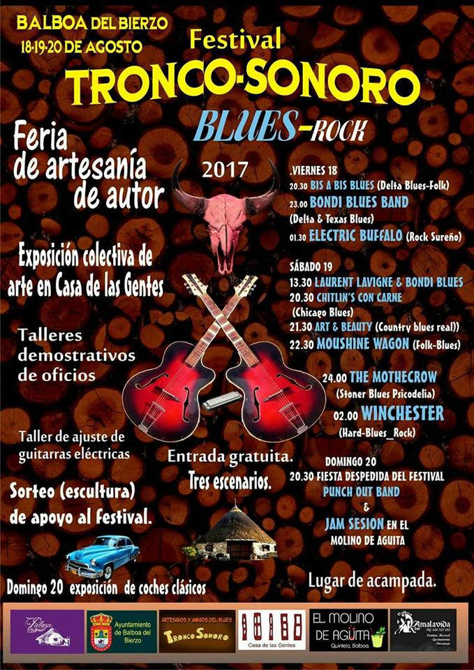 Balboa acogerá un nuevo festival de verano: Festival Tronco Sonoro. 2