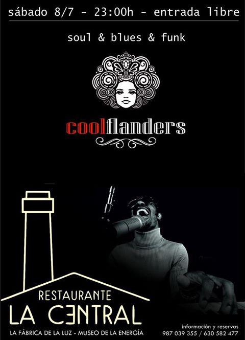 Cool Flanders, música en directo el sábado en La Central 2