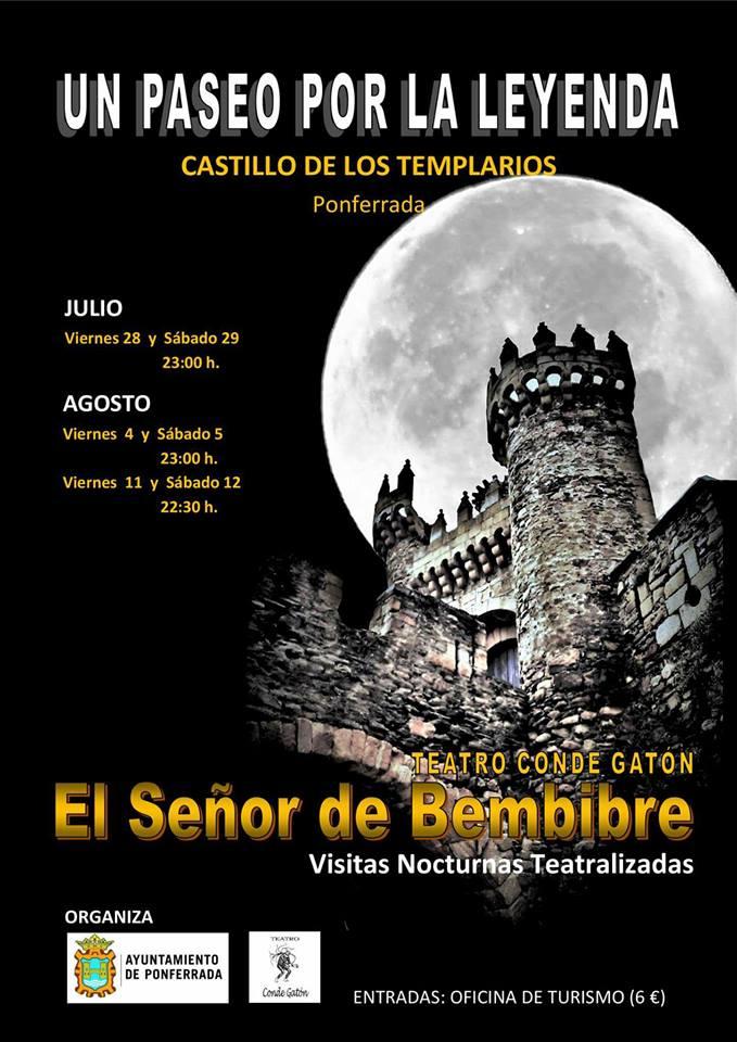 Visitas nocturnas teatralizadas al Castillo de los Templarios