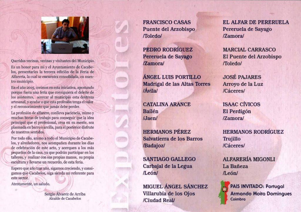 III Feria Internacional de Alfarería de Cacabelos 3