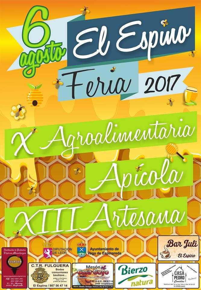 Feria agroalimentaria, apícola y de artesanía