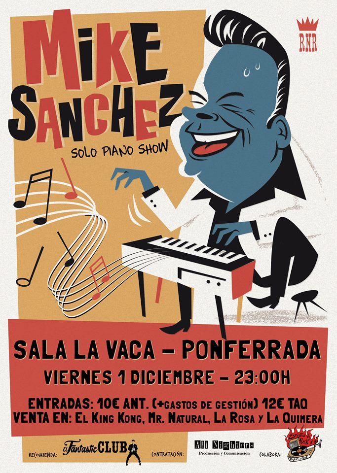 Concierto: Mike Sánchez