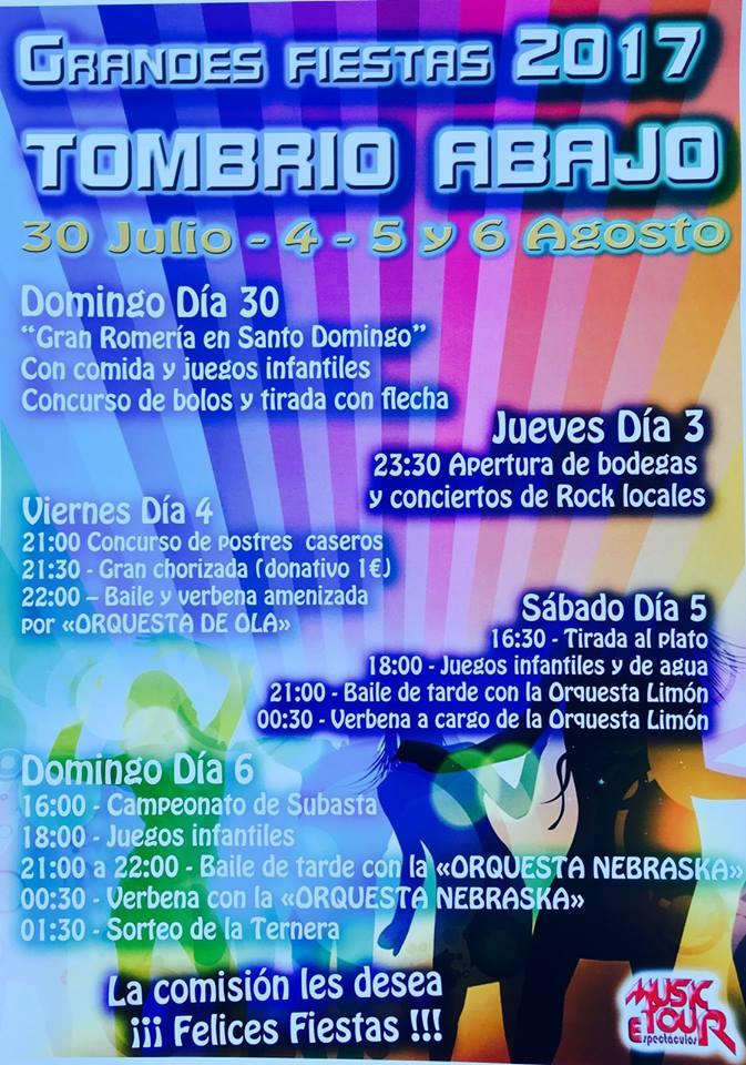 Fiestas en Tombrio de Abajo