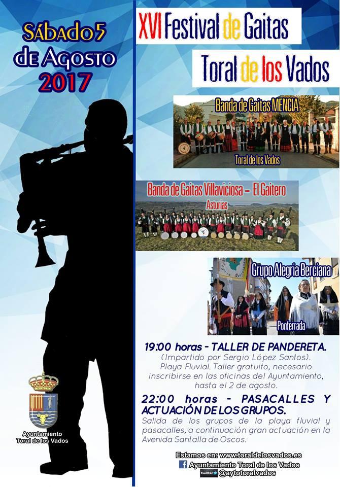XVI FESTIVAL DE GAITAS DE TORAL DE LOS VADOS: