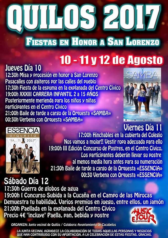 Fiestas de San Lorenzo 2017