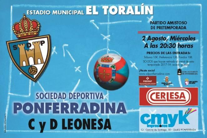 Fútbol: SD Ponferradina - CyD Leonesa