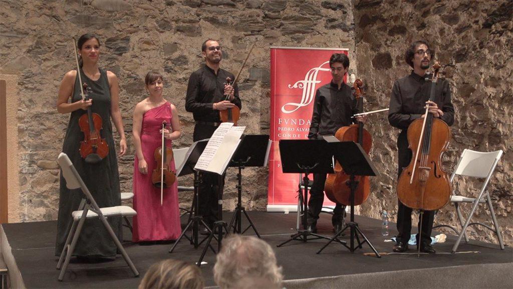 Corteza de Encina 2017. 05 Cuarteto Boissier. Cuarteto de cuerda