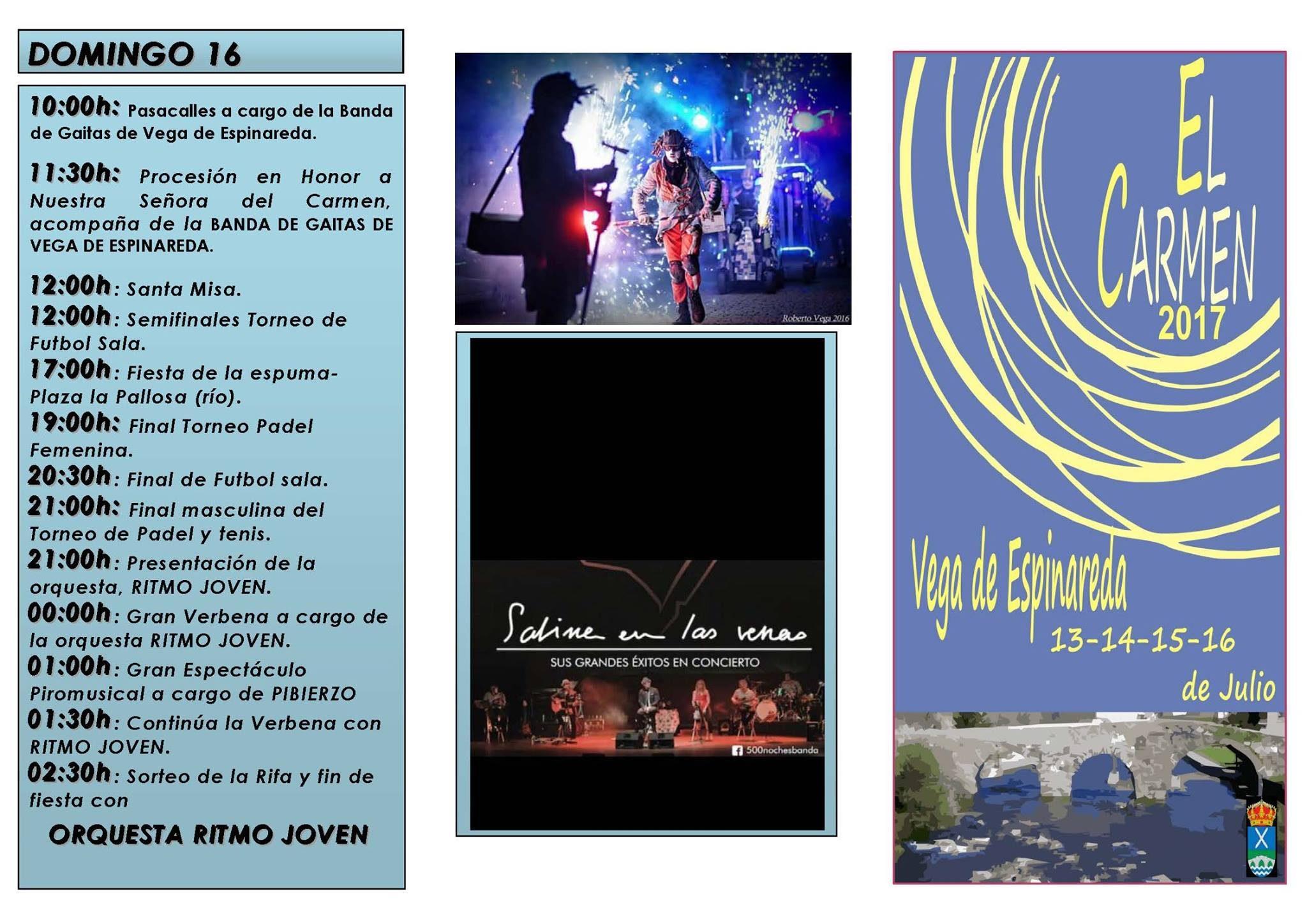 Fiestas del Carmen 2017 en Vega de Espinareda 4