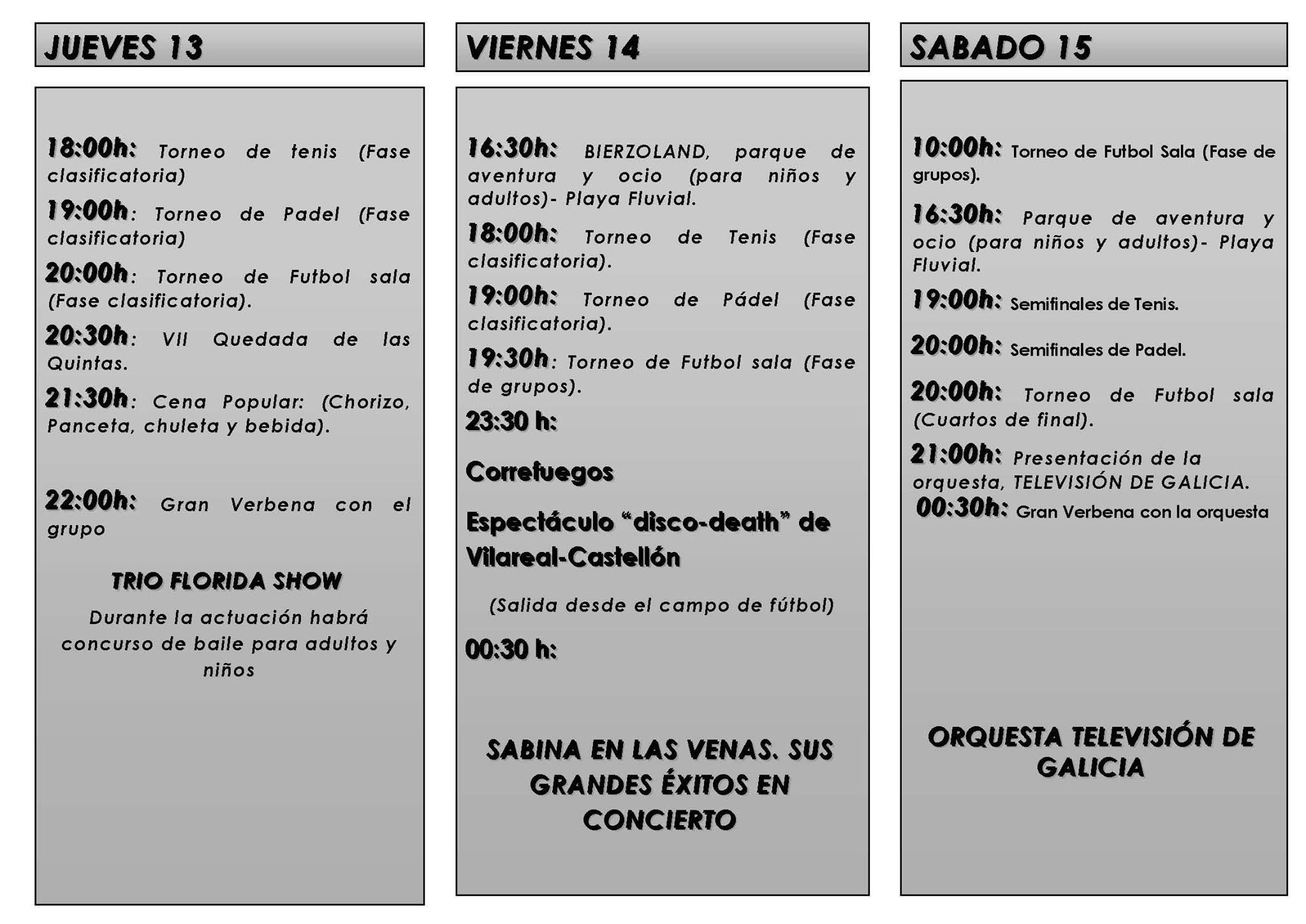 Fiestas del Carmen 2017 en Vega de Espinareda 3