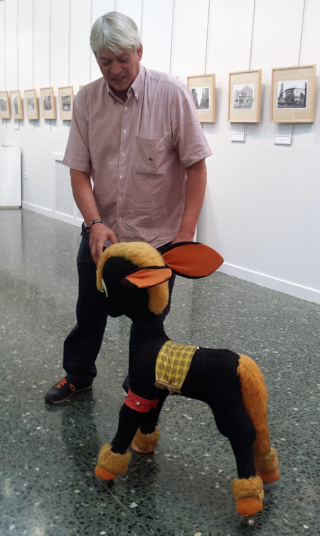 El 'burrito de Fariñas' se incorpora a la exposición Ponferrada Ye-Ye 2
