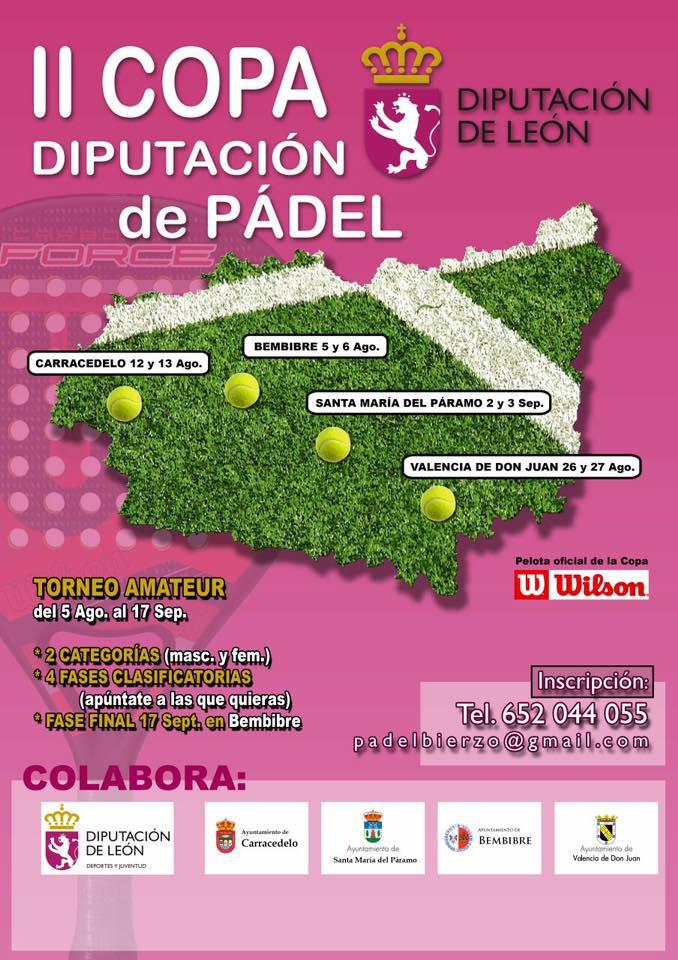 2ª Copa Diputación De Pádel (2ª Fase: Carracedelo)