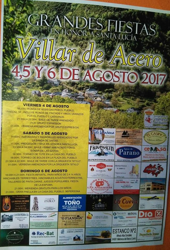 Grandes Fiestas en Villar de Acero 4