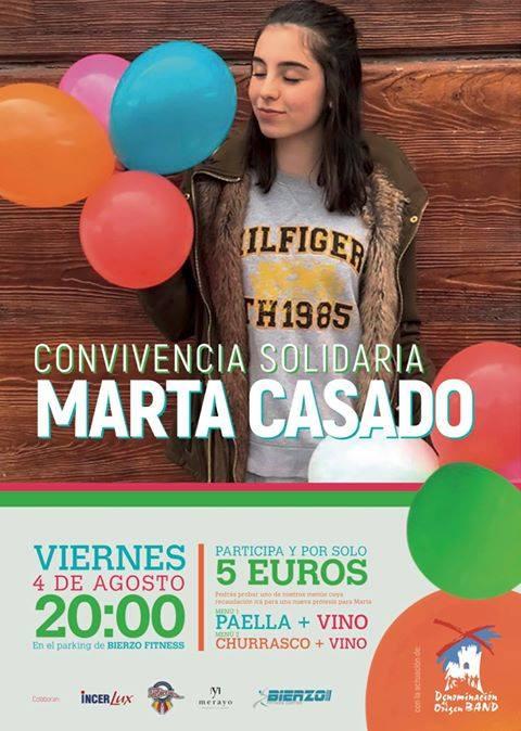 Convivencia solidaria: Marta Casado
