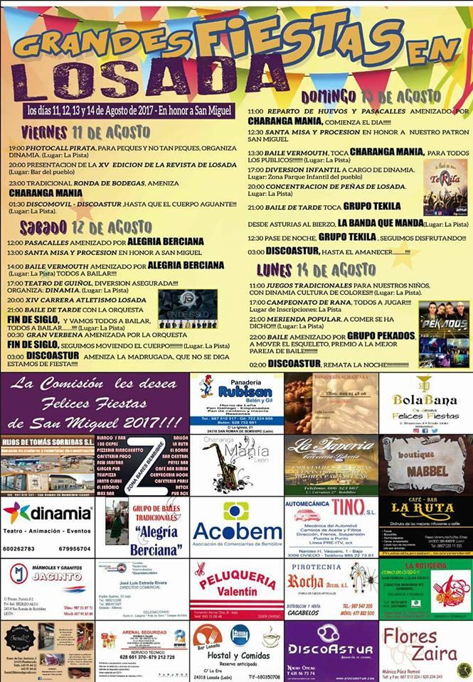 Fiestas en Losada