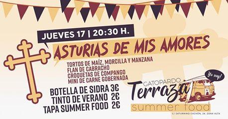 """Summer Food """"Asturias patria querida"""""""