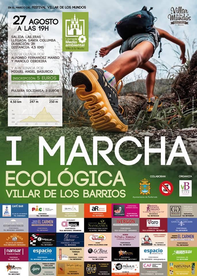 I Marcha ecológica Villar de los Barrios