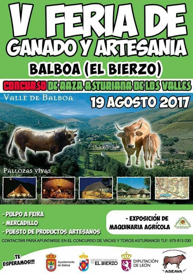 V Feria de ganado y artesanía