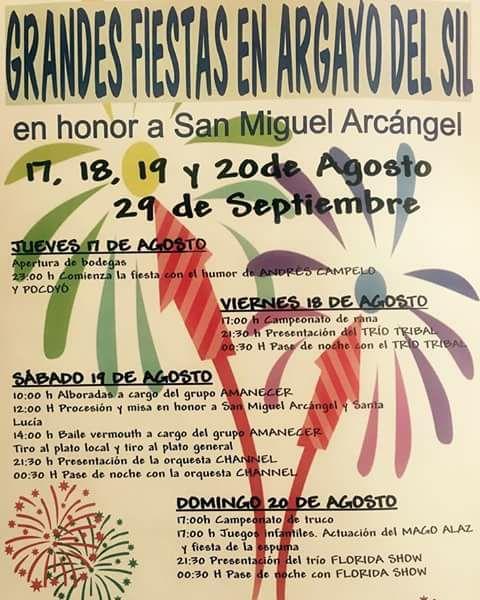 Fiestas en Argayo 2017