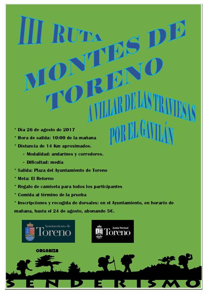 III Ruta Montes de Toreno
