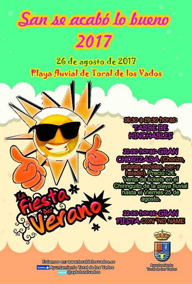 Fiesta: San Se acabó lo bueno 2017