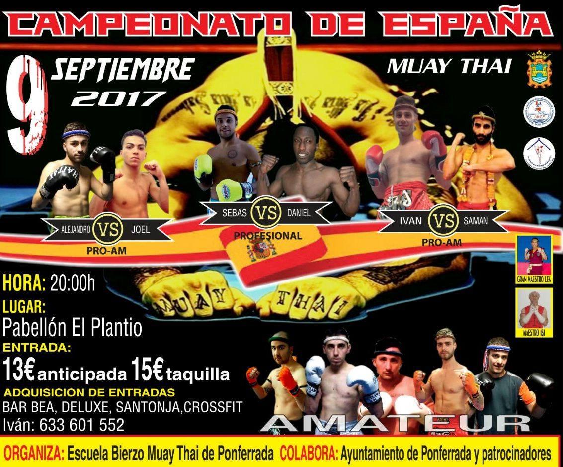 Campeonato de España de Muay Thai