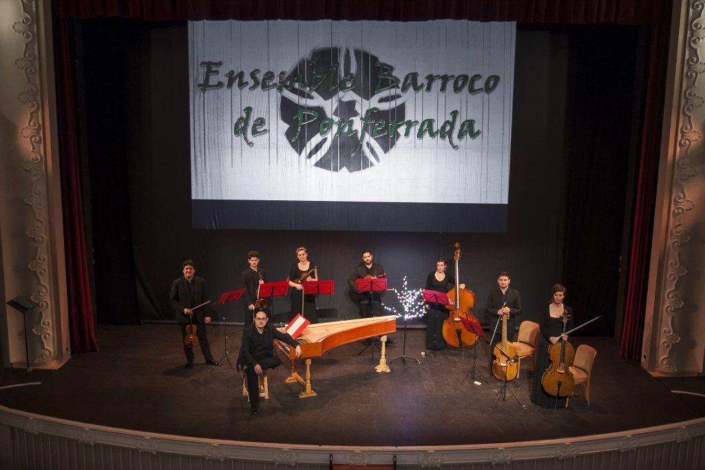 El Ensemble Barroco de Ponferrada cierra con Las cuatro estaciones de Vivaldi el ciclo Corteza de Encina