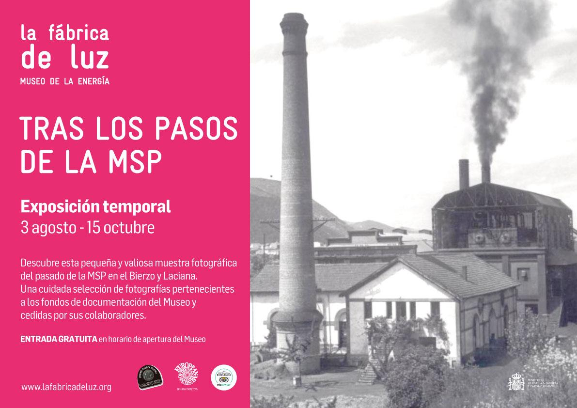 """El Museo de la Energía inaugura la exposición """"Tras los pasos de la MSP"""" 2"""