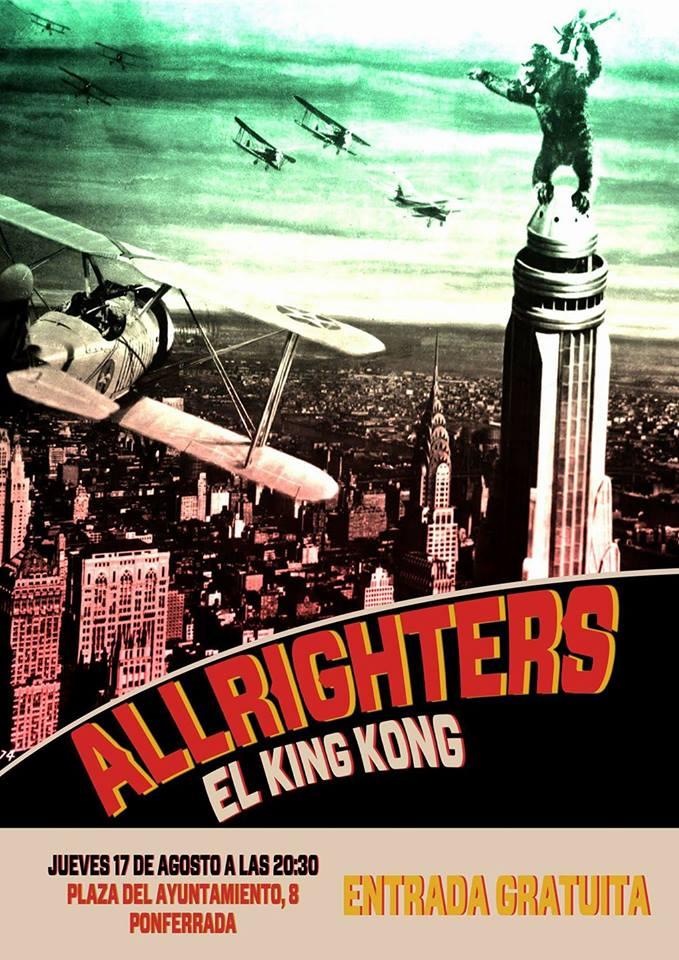Los leoneses Allrighters en directo este jueves en El King Kong 2
