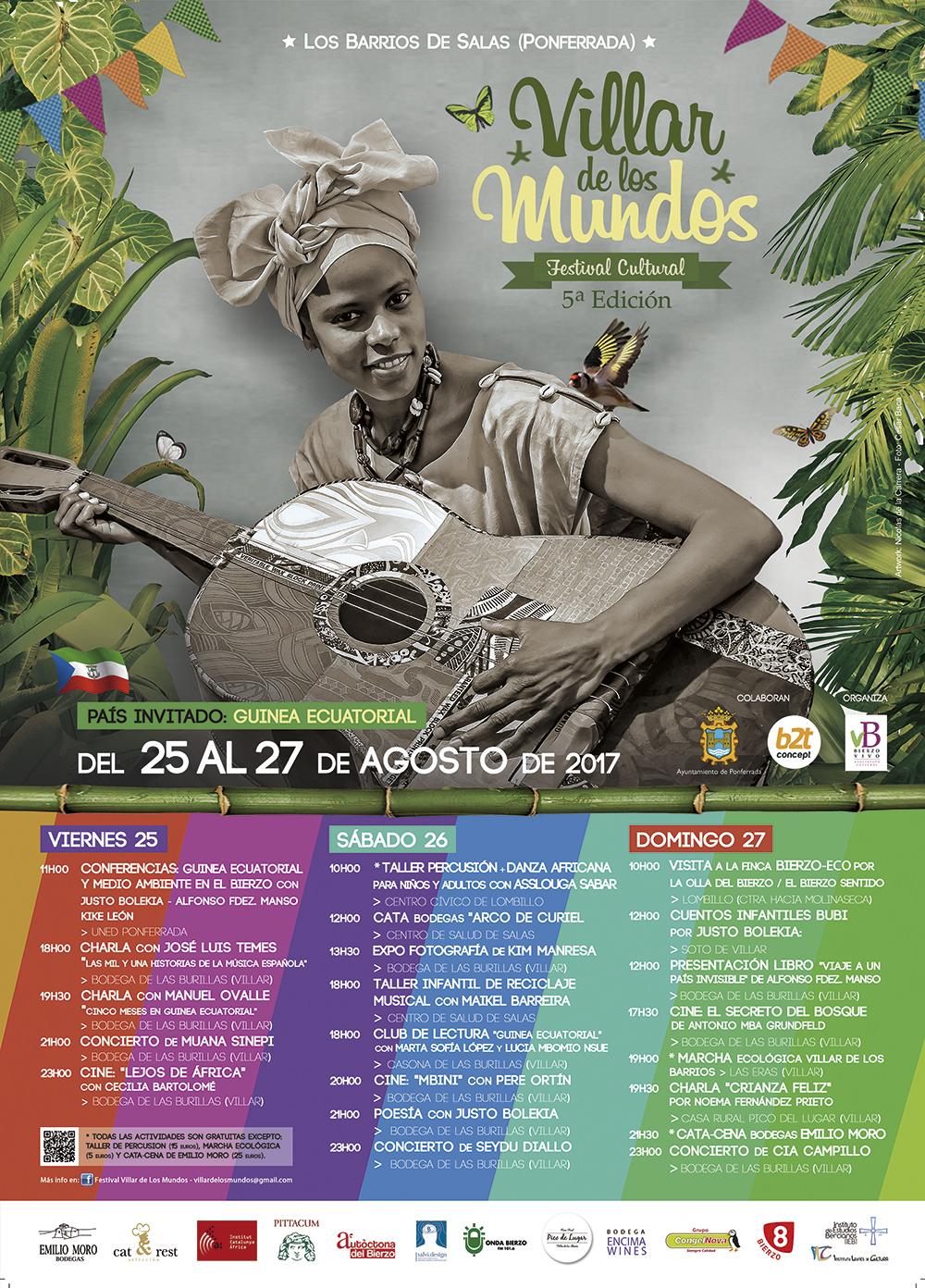 V edición del Festival Villar de Los Mundos. programación 19
