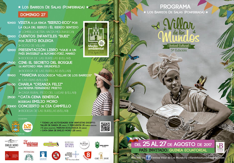 V edición del Festival Villar de Los Mundos. programación 17