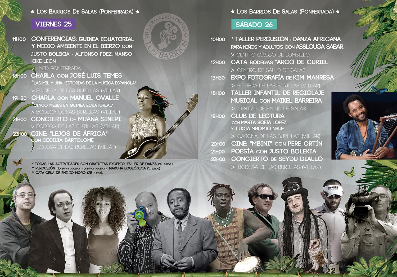 V edición del Festival Villar de Los Mundos. programación 18
