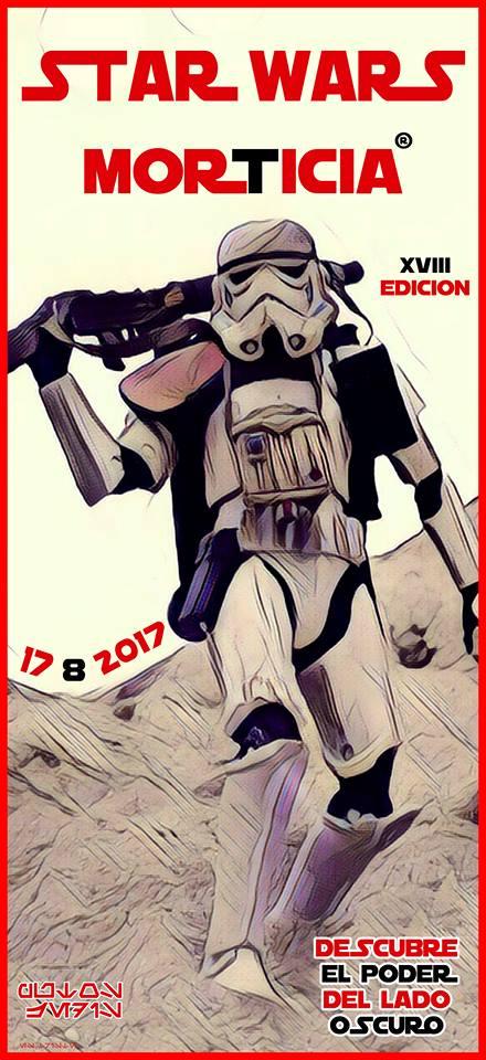 El Morticia presenta este jueves la XVIII Convención Star Wars 2017 2