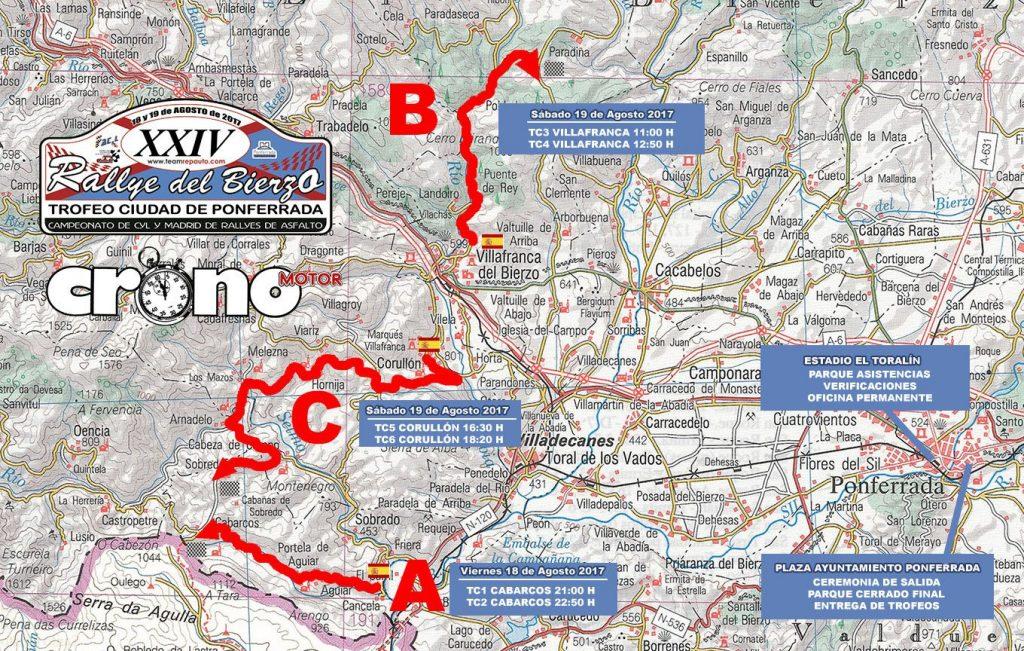 Ya rugen los motores para la XXIV edición del Rallye del Bierzo que se celebra este fin de semana 3