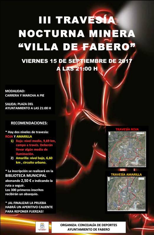 III travesíanocturna minera 'Villa de Fabero'