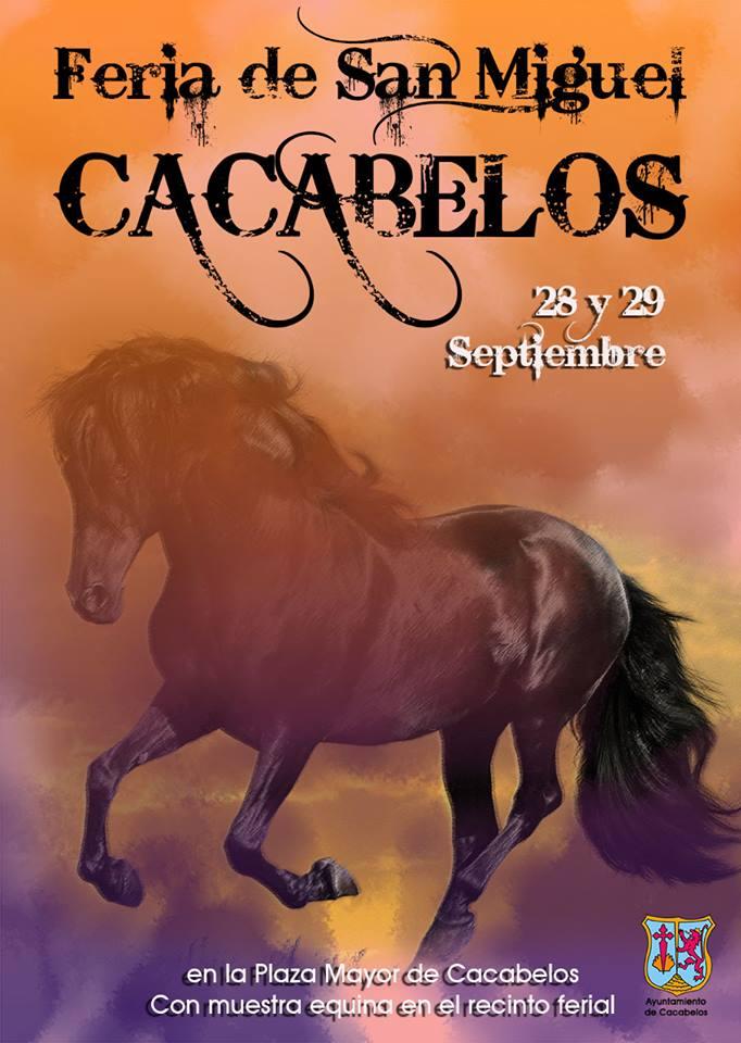Feria de San Miguel en Cacabelos. 28 y 29 de Septiembre 2017