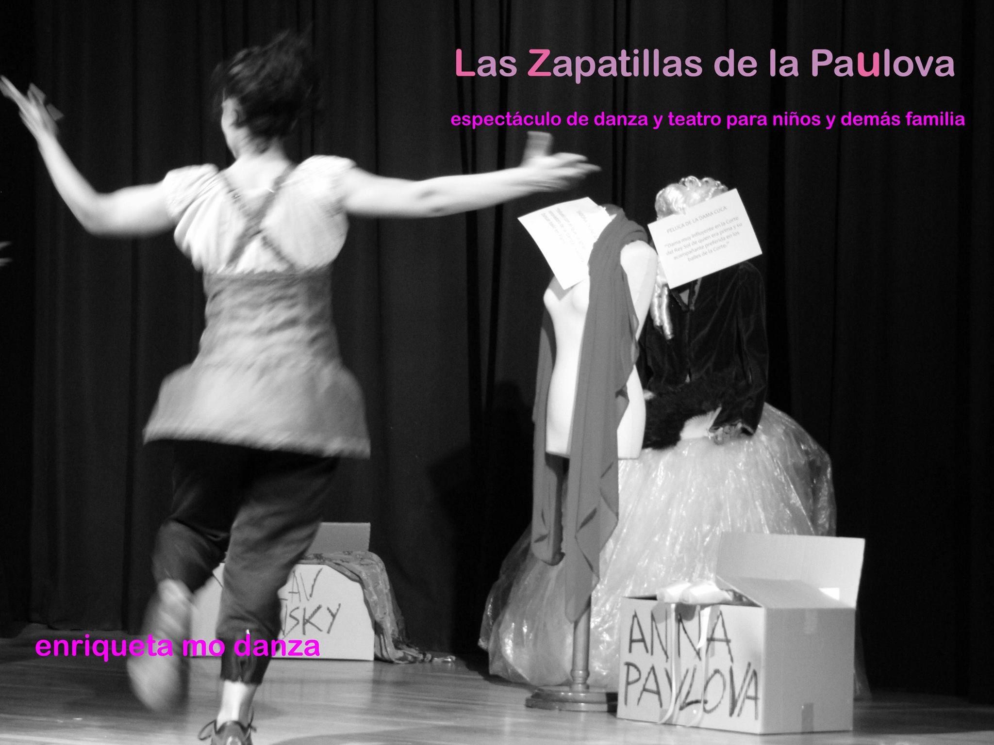 Danza en el Teatro de Cubillos del Sil con 'Las zapatillas de Paulova' 2