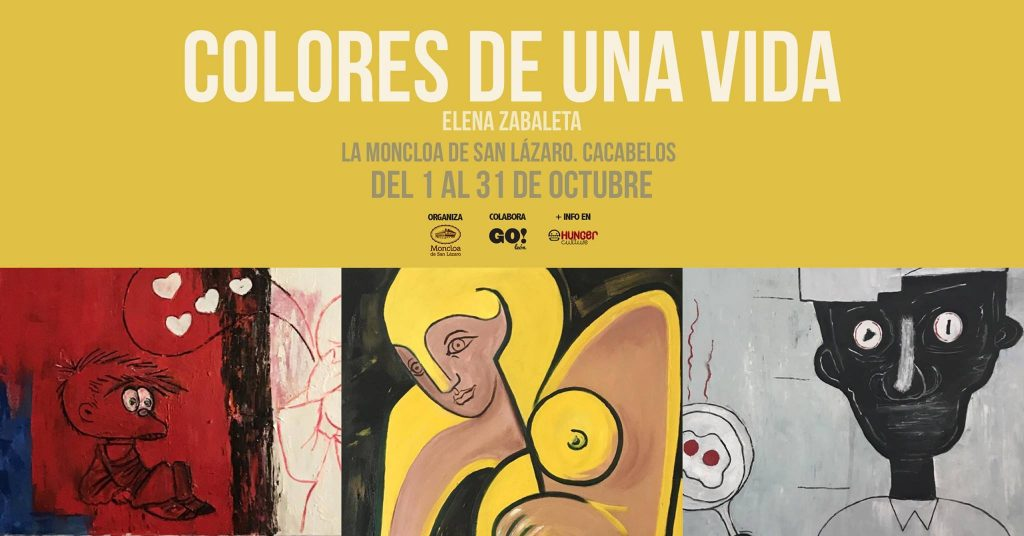 Colores de una vida (exposición de Elena Zabaleta)