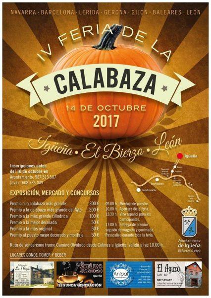 Igueña celebra la IV Feria de la calabaza el próximo 14 de octubre 2